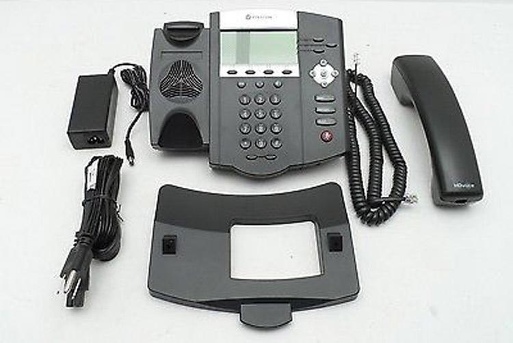 نمای روبرو Polycom SoundPoint IP 450