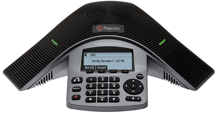 تصویر روبرو Polycom SoundPoint IP 5000