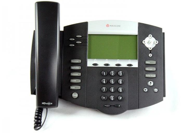 تصویر جلو Polycom SoundPoint IP 550