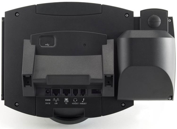 نمای پشت Polycom SoundPoint IP 550