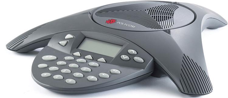 نمای جانبی سمت چپ Polycom SoundPoint IP 6000