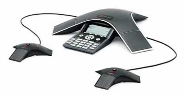نمای جلو  Polycom SoundPoint IP 7000