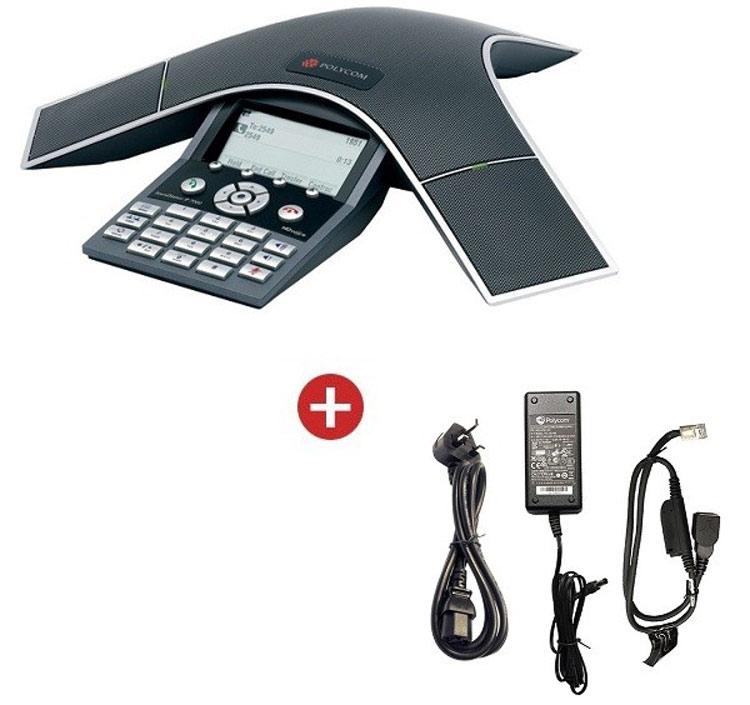 همراه با شارژر و سیم ها Polycom SoundPoint IP 7000