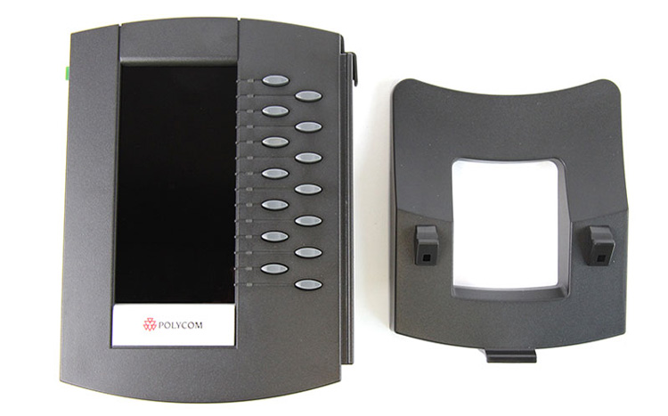 همراه با پایه Polycom Soundpoint IP Backlit Expansion Module