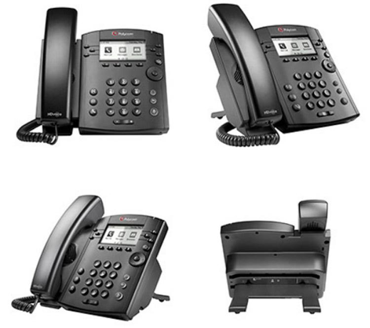زوایای مختلف Polycom VVX 300 IP Phone
