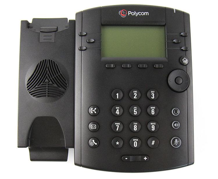 نمای روبرو بدون گوشی Polycom VVX 310 IP Phone