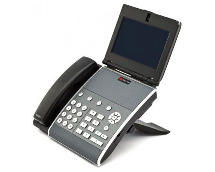 نمای سمت چپ Polycom VVX1500 Video IP Phone