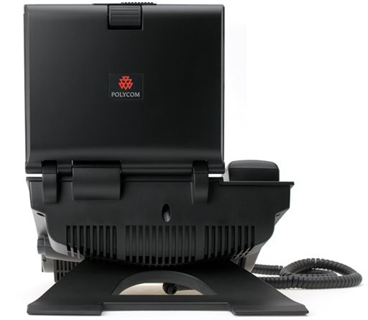 نمای پشت Polycom VVX1500 Video IP Phone