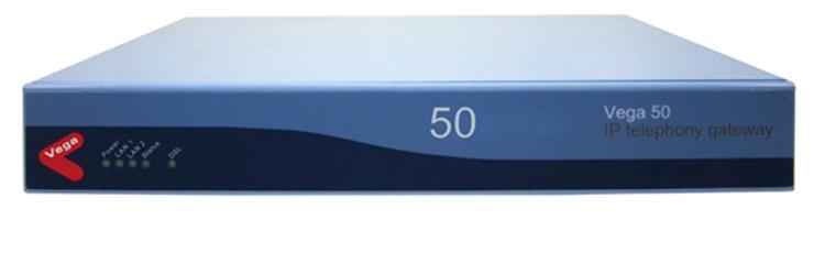 نمای روبرو Sangoma Vega 50 2FXO 8FXS-Gateway 1