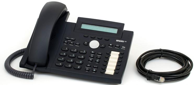 به همراه سیم اتصال Snom 320 IP Phone