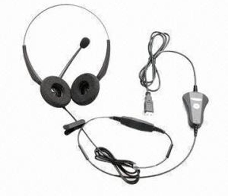 نمای کلی و کامل با سیم VT2000 DOU Headset