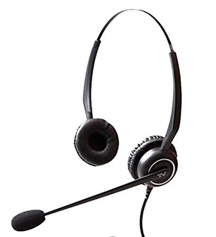 نمای سمت چپ با دو گوشی VT5000UNC D Headset 2