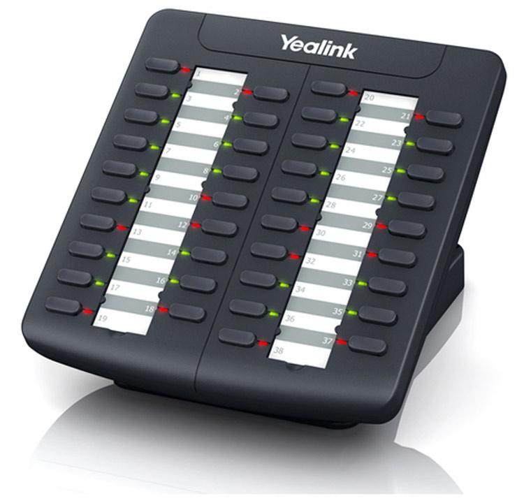 نمای روبرو  Yealink EXP38 Expansion Module