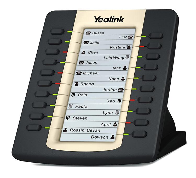 نمای روبرو  Yealink EXP39 Expansion Module