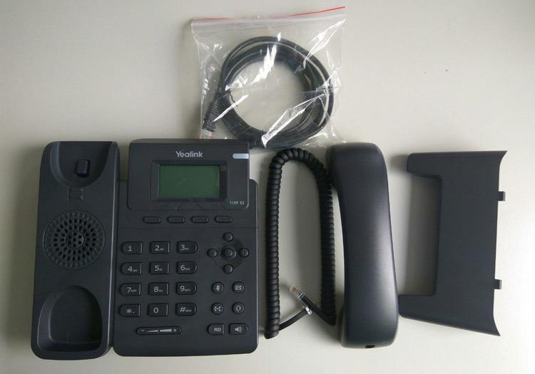 همراه با قطعات باز شده Yealink SIP-T19P IP Phone