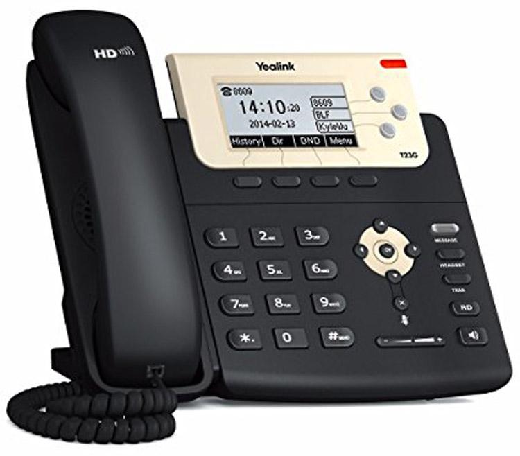 تصویر سمت راست Yealink SIP-T23G IP Phone