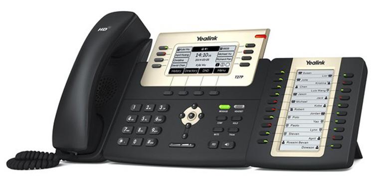 به همراه ماژول توسعه Yealink SIP-T27P IP Phone
