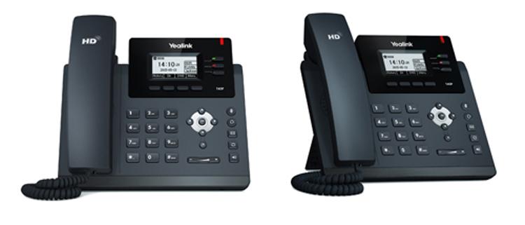 دونمای روبرو و بغل Yealink SIP-T40P IP Phone