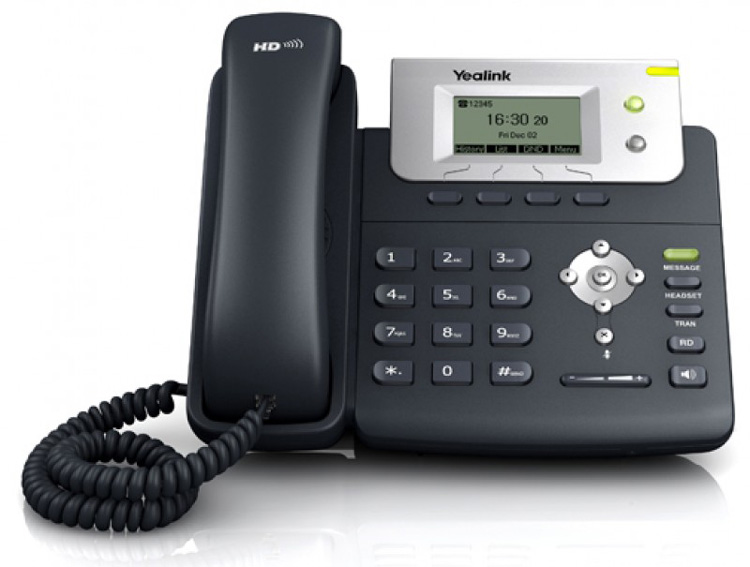 نمای روبرو Yealink T20P IP Phone