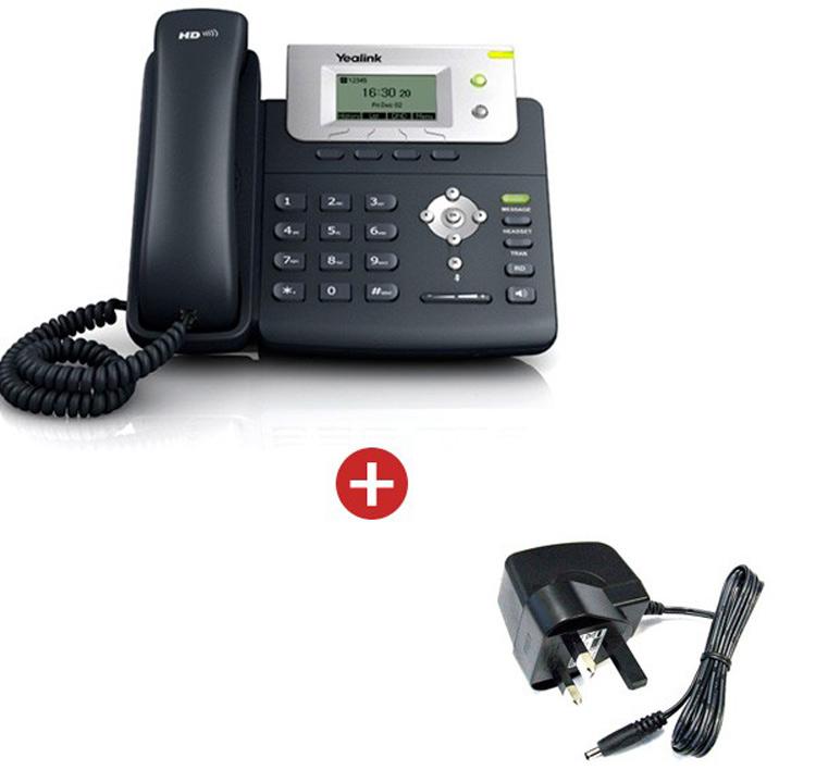 همراه با شارژر Yealink T21P E2 IP Phone