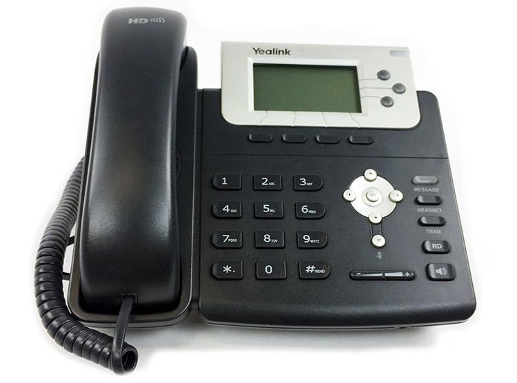 نمای روبرو Yealink T22P IP Phone