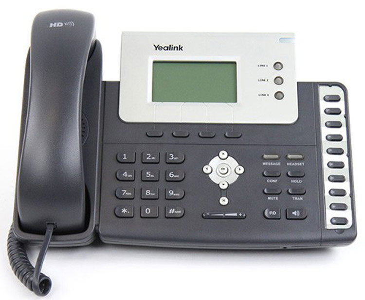 نمای روبرو Yealink T26P IP Phone