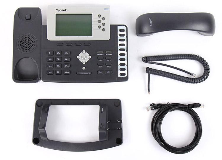 همراه با قطعات تشکیل دهندهYealink T28P IP Phone