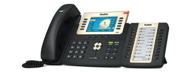 همراه با ماژول گسترش Yealink T29G IP Phone