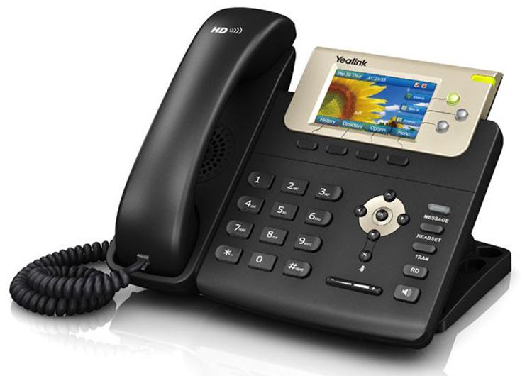 تصویر سمت چپYealink T32G IP Phone