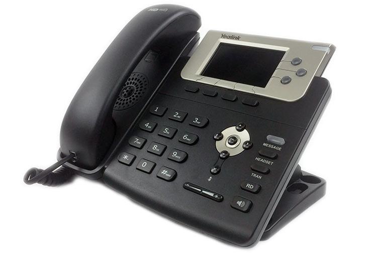 تصویر جانبی Yealink T32G IP Phone