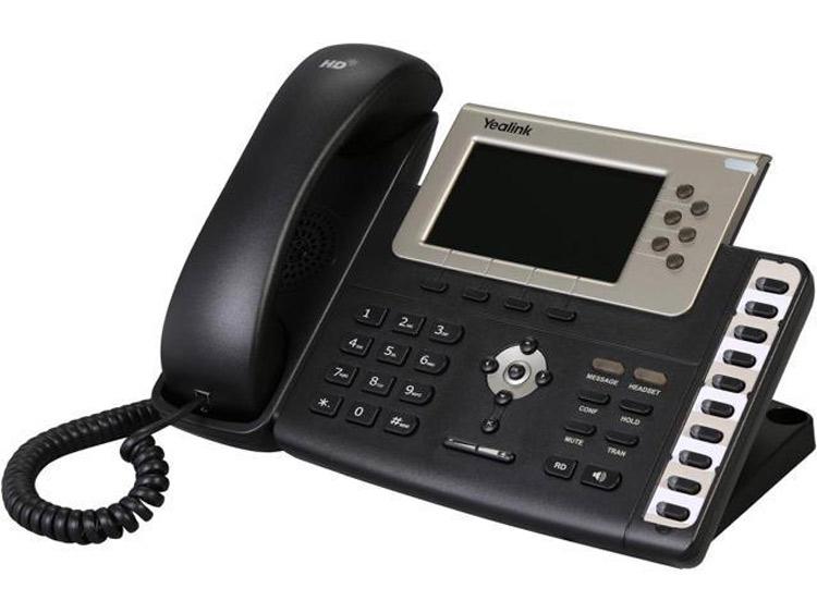نمای روبرو Yealink T38G IP Phone