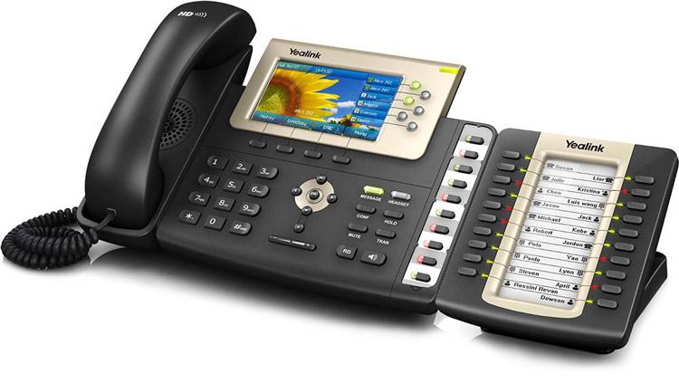 همراه به ماژول توسعه Yealink T38G IP Phone