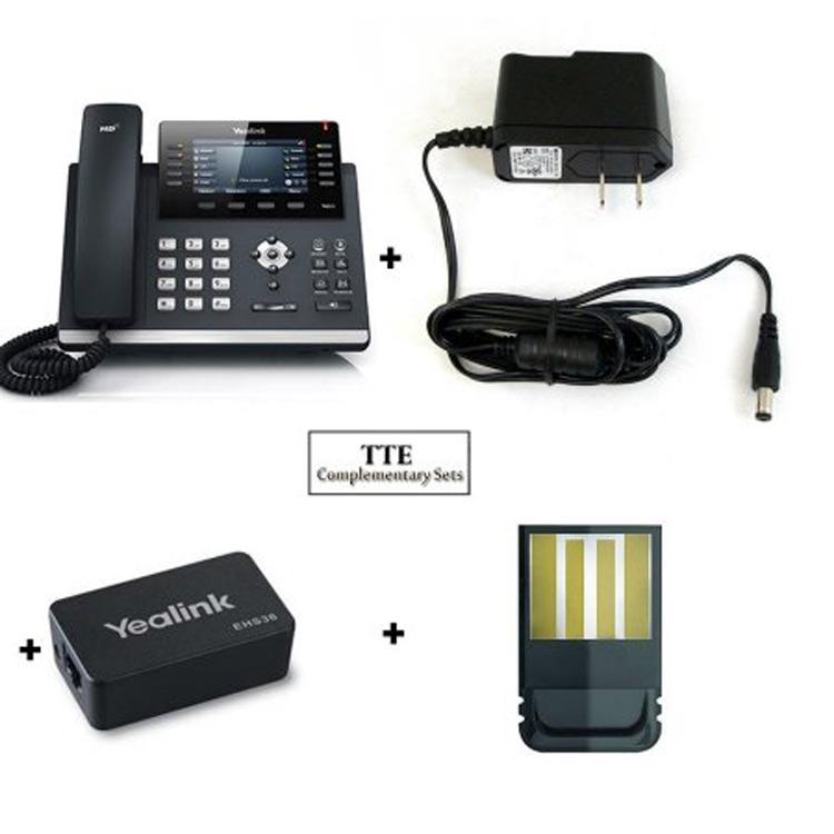 همراه با تجهیزات شبکهYealink-T46S-IP-Phone-3
