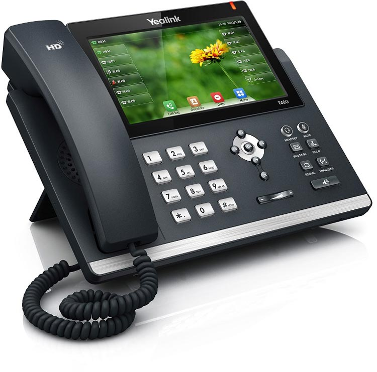 نمای بغل Yealink-T48S-IP-Phone-1