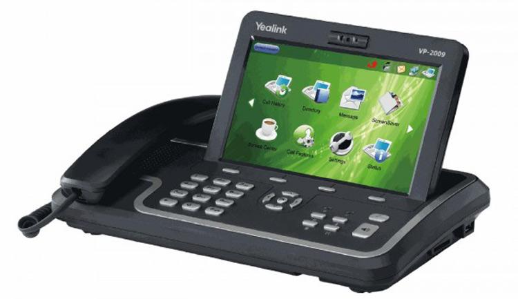 نمای بغل Yealink VP2009P Video Phone