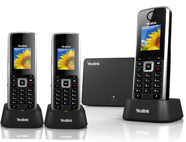همراه با گوشی های دیگرYealink W52P Dect Phone Complete Set