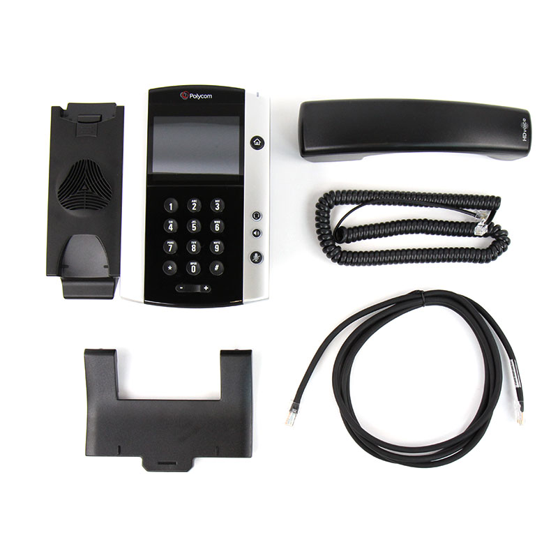 همراه با قطعات Polycom VVX 500 IP Phone