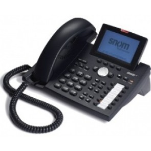 SNOM 370- تلفن IP مبتنی بر پروتکل SIP