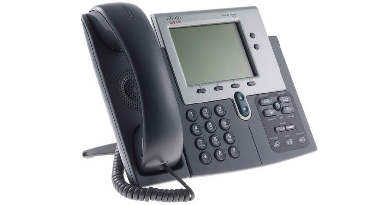 نمای سمت راست Cisco 7940G IP Phone