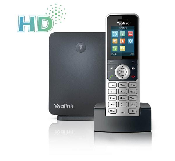 صدای گوشی yealink w53p